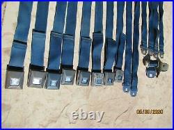 69 Olds Seatbelts Cutlass S 442 W-30 Hurst Vista Cruiser 68 Buick Sport Wagon