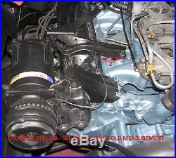 70-72 PONTIAC A/C Compressor Mount Brackets AC Air Conditioning Formula Trans-Am