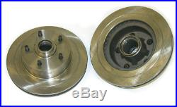70-75 GM Front Disc Brake Rotors Grooved W30 Judge GS