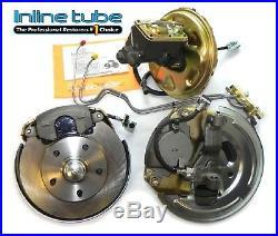 71-72 A-body Front Power Disc Brake Conversion Wheel Kit Caliper Rotor Factory