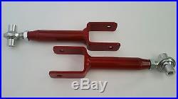 78-88 G Body Tubular Lower & Adj Upper Control Arms withHWD, Housing Bushing BLACK