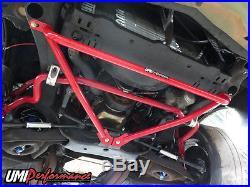 78-88 GM G-Body Monte Carlo Malibu Front Reinforcement Brace Bolt-In, UMI Black