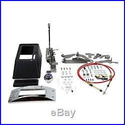 B&M 80683 Quicksilver Automatic Transmission 3 and 4 Speed Floor Ratchet Shifter