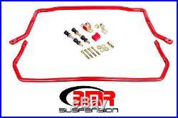 BMR Suspension SB031, Sway Bar Kit With Bushings, Front (SB020) And Rear (SB021)