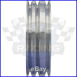 Billet Aluminum Pontiac Pulley Kit 350 400 428 455 Air Conditioning A/C Vintage