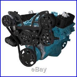 Black Diamond Pontiac Serpentine System for 350-400, 428 & 455 V8 PS & Alt