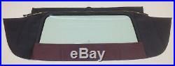 Cadillac 65-70 Convertible Top+rear Glass Assembly Special Color Vinyls