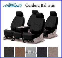 Coverking Custom Seat Covers Ballistic Canvas Front and Rear Row 5 Colors