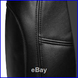 Coverking Custom Seat Covers Premium Leatherette Front and Rear Row 12 Colors