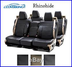 Coverking Custom Seat Covers Rhinohide Front and Rear Row 3 Color Options