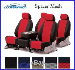 Coverking Custom Seat Covers Spacer Mesh Front and Rear Row 5 Color Options