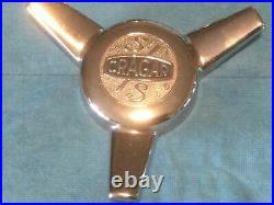Cragar S/S Spinner Center Cap Mag Wheel Chevy Camaro Chevelle Pontiac GTO Crager