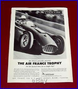 Dec 1959 GRAND PRIX OF THE UNITED STATES at SEBRING Program 1st US GP Race