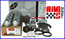 ENGINE REBUILD OVERHAUL KIT for 1976-1985 GM CHEVY 305 5.0L V8 FLAT TOP PISTONS
