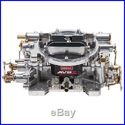 Edelbrock 1905 AVS 2 4 Barrel Manual Choke Carburetor 650 CFM