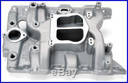 Edelbrock 2156 Performer Dual Plane Intake Manifold Pontiac 326-455 V8 Non-EGR