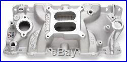 Edelbrock 2701 Performer EPS Intake Manifold Small Block Chevy 4 Barrel