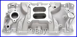 Edelbrock 2701 Performer EPS Intake Manold Chevy S283 327 350 Fits Stock Heads