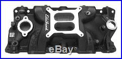 Edelbrock 27013 Performer EPS Black Intake Manifold Small Block Chevy