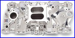 Edelbrock 27014 Performer EPS Endurashine Intake Manifold SB Chevy
