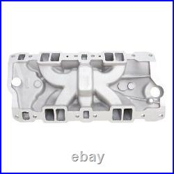 Edelbrock 2703 Performer Intake Manifold Small Block Chevy with Oil Fill