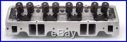 Edelbrock 5089 E-Street Cylinder Aluminum Heads SBC 64cc Chamber/185cc Runner