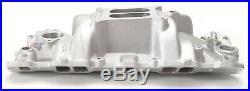 Edelbrock 7101 Performer RPM Intake Manifold 1955-86 Small Block Chevy 262-400