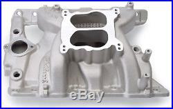 Edelbrock 7156 Performer RPM Dual Plane Intake Manifold Pontiac 326-455 V8