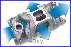 Edelbrock 7501 Performer RPM Air Gap Intake Manifold 1955-86 Small Block Chevy