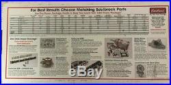 Edelbrock 7501 RPM Air-Gap Small Block Chevy SBC 262-400 c. I. D. Intake Manifold