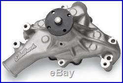 Edelbrock 8811 Victor Series Long Water Pump SBC Aluminum Standard Rotation