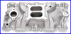 Edelbrock Performer EPS Intake Manold Chevy Smal block V8 EDL 2701 NEW
