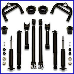El Camino Lift Kit 73-77 Chevelle Donk Cutlass suspension 24 26 rims A Body 3-7