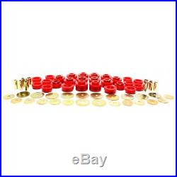 Energy Suspension Body Mount Bushings Polyurethane Red Buick Chevy Olds