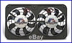 FLEX-A-LITE 410 Dual 12 1/8 Lo-Profile S-Blade elec fan withVariable Speed Cont