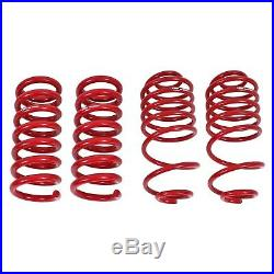 For Chevy Malibu 78-83 1.5 x 1.5 Front & Rear Lowering Coil Springs