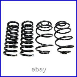 For Chevy Malibu 78-83 2 x 2 Front & Rear Lowering Coil Springs