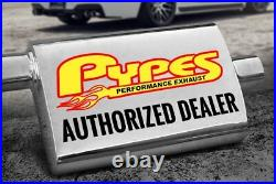 For Chevy Monte Carlo 70-72 Exhaust System Pypes 409 SS X-Pipe Crossmember-Back