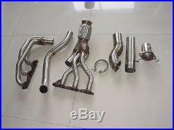 For Impala 3.8l V6 Grand Prix Gtp Regal Headers And Downpipe