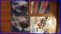 Formula-1 United States Grand Prix Set of All 8 Programs F1 Indy Ferrari McLaren