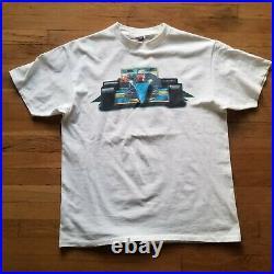 Grand Prix f1 race car ONEITA POWERPRO single stitch vintage tee shirt sz XL vtg