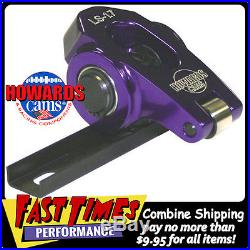 HOWARD'S Chevy GM LS LS1 Cathedral Port Aluminum Roller Rocker Arms 1.8 Ratio