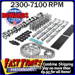 HOWARD'S GM Chevy LS 283/287 598/604 112° Cam Camshaft Kit withLink-Bar Lifters