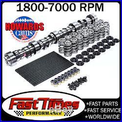 HOWARD'S GM Chevy LS LS1 274/286 612/638 115° Cam, Valve Springs, Pushrods Kit