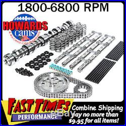 HOWARD'S GM LS 274/274 612/612 115° Turbo Cam Camshaft Kit withLink-Bar Lifters
