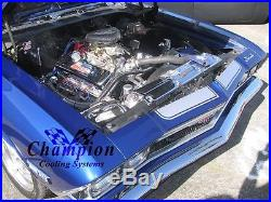 Heavy Duty A/C 3 Row Pro Radiator 68 69 70 71 72 73 74 75 76 77 El Camino