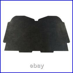Hood Insulation Pad 1/2 Fiberglass for 1973-77 Pontiac Grand Prix Gray/Black