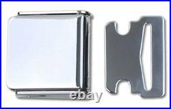Light Blue Non Retractable Lap Seat Belt Deluxe Kit For 2 Person/Position, 74