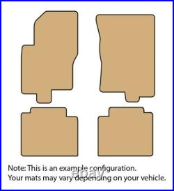 Lloyd CLASSIC LOOP 4pc Carpet Car Floor Mat Set Choose from 8 Colors