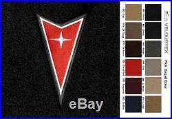 Lloyd Mats Pontiac Grand Prix Dart Emblem Velourtex Front Floor Mats (1997-2003)